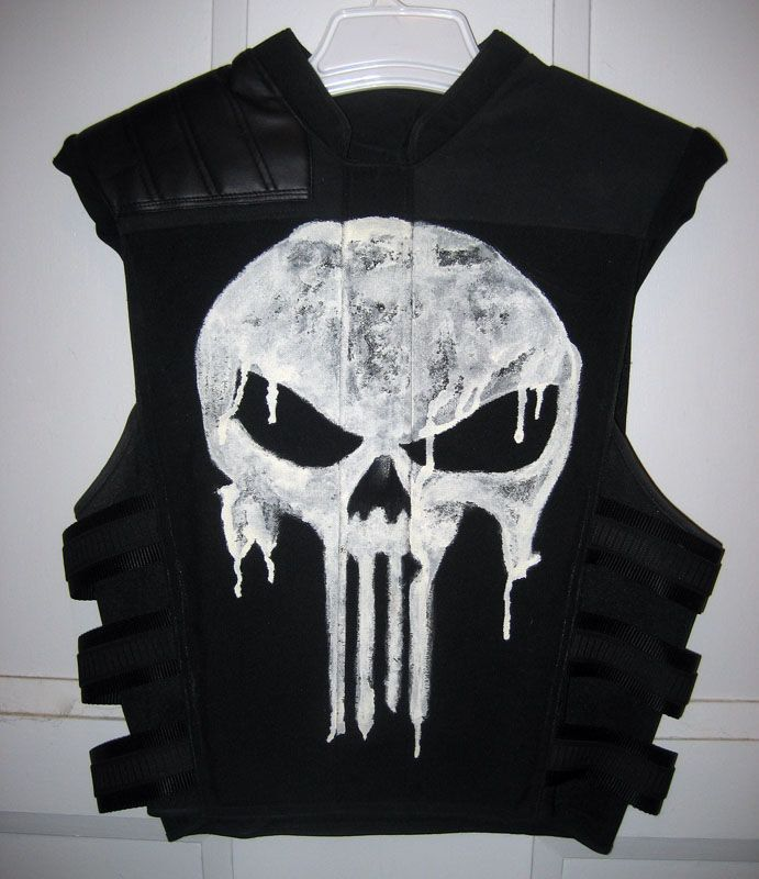 The Punisher Thomas Jane Faux Bulletproof Vest by magicwardrobe. $900.00, via Etsy.