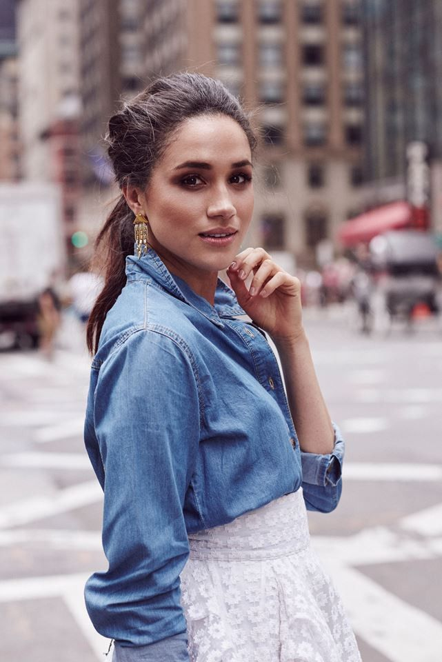 """hermione: """" Meghan Markle photographed by Christian Blanchard """""""