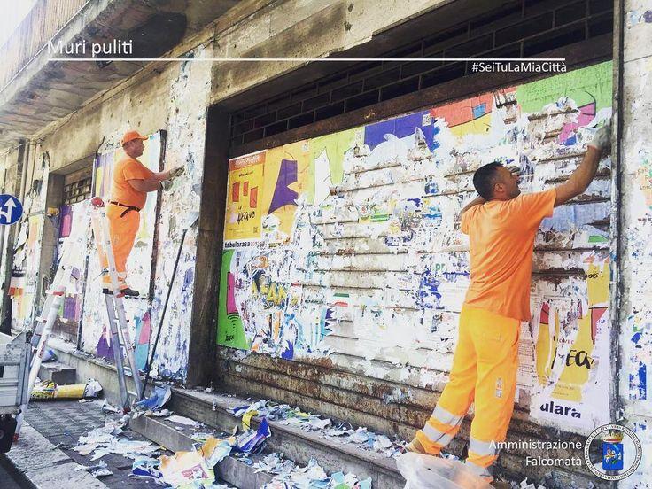 Un muro imbrattato è una ferita al cuore della città.  Ripulire i muri non significa solamente ripristinare  il decoro ma riappropriarsi di ogni angolo di Reggio riscoprirne la bellezza recuperarne l'identità. #MuriPuliti #reggiocalabria #seitulamiacittà #bellezza #decoro