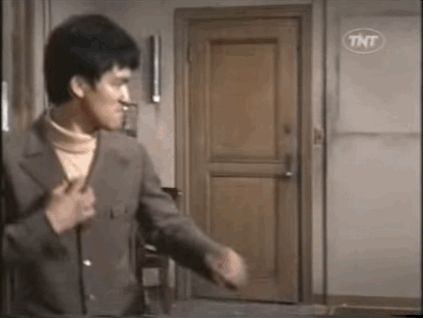 How you feel when you make a perfectly valid point that wins an argument: | 24 Perfect Bruce Lee GIFs For Absolutely Every Situation