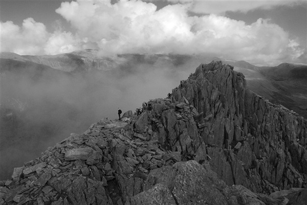 Tryfan north ridge. My favourite mountain! Walked this a few times