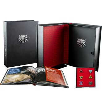 The World Of The Witcher - Deluxe Limited Edition Hard Cover Book (HC)