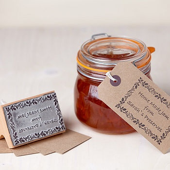 christmas chutney!! or any canned good...a great, homemade (maybe inexpensive) treat and gift!