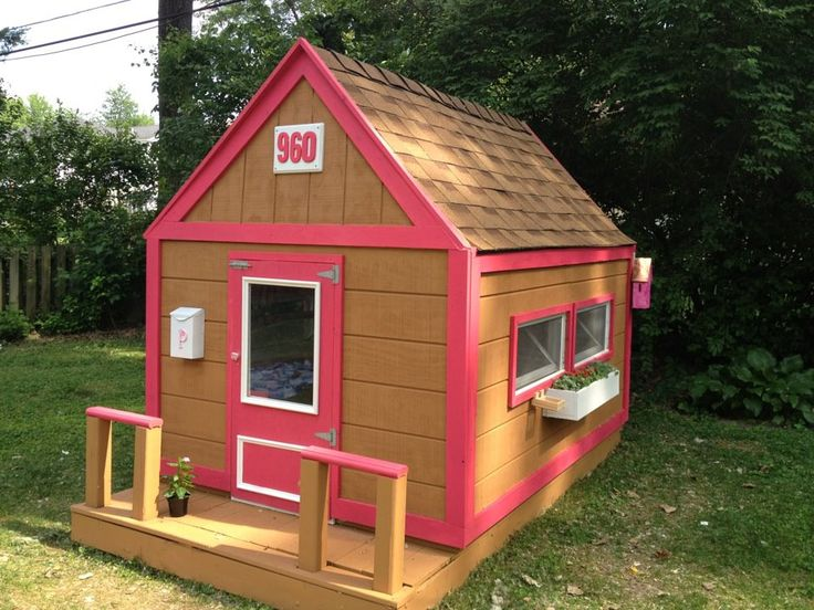 31 best playhouse images on pinterest play houses cabins and custom playhouse do it yourself home projects from ana white solutioingenieria Image collections