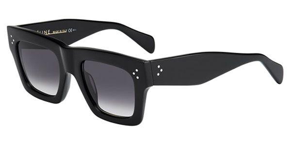 Buy Celine CL 41054/S Large Original 807/W2 Black sunglasses from Australia