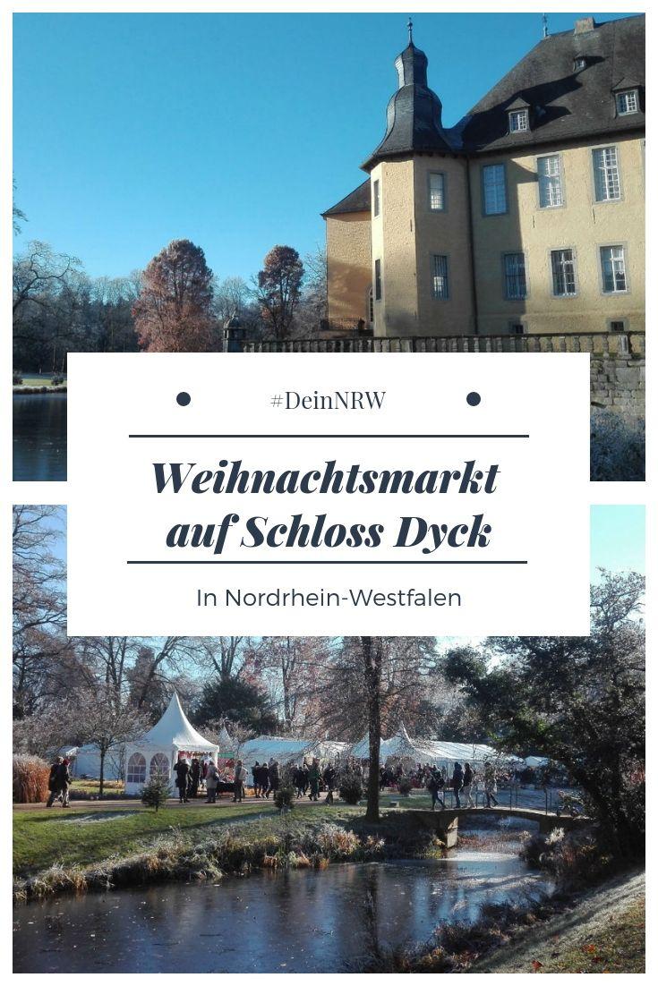 Weihnachtsmarkt Im Schloss Dyck In Juechen Mit Bildern Harz