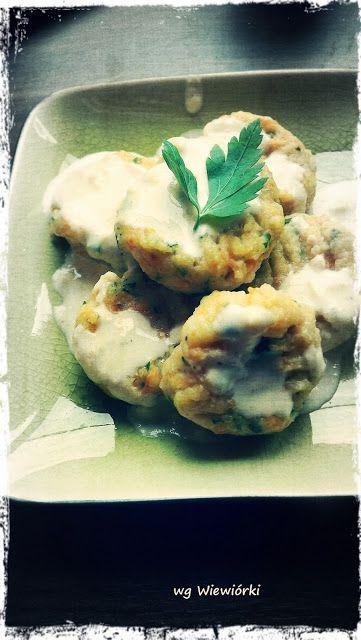Dzieje kuchennej Wiewióry: Gnocchi z marchewka, pietruszką i sosem serowym