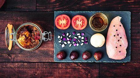 Recette Volaille au cidre en conserve - Le Parfait