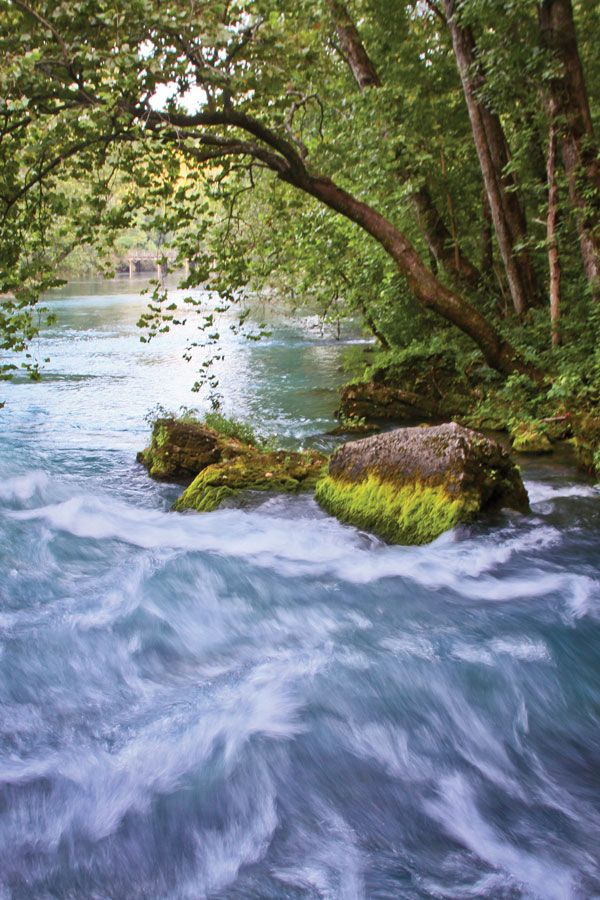 Big Spring is the largest spring in Missouri and one of the three largest springs in the United States.