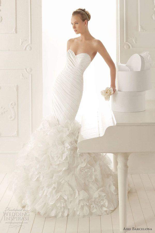 157 best Wedding Dress Skirt Styles images on Pinterest   Gown ...