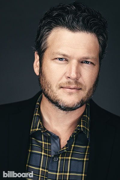 NBC's The Voice Judges' Billboard Photo Shoot // Blake Shelton