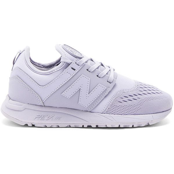 New Balance 247 Sneaker (£69) ❤ liked on Polyvore featuring shoes, sneakers, laced shoes, synthetic shoes, rubber sole shoes, lacing sneakers and lace up shoes