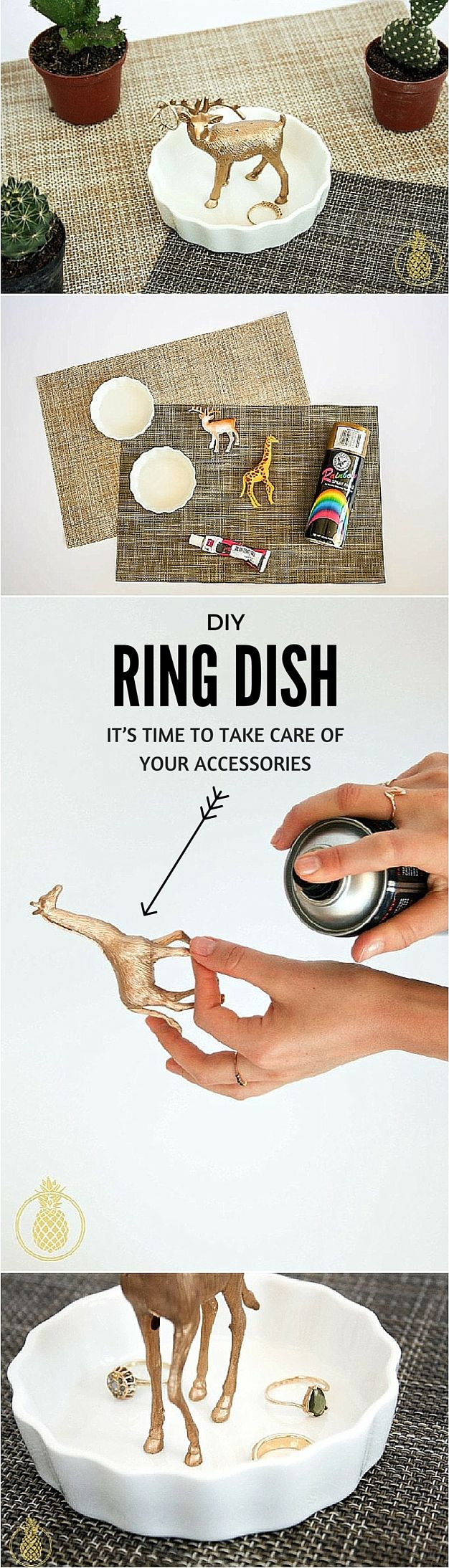 Accessories easy ring dish | DIY & Crafts | DIY project | easy DIY