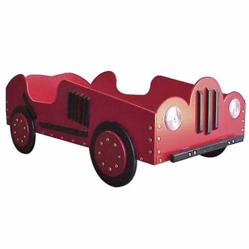 Have to have it. Old Style-Race Car Toddler Bed -