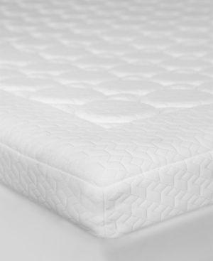 "Sensorpedic 3.5"" Memory Foam Micro-Coil California King Mattress Topper - White"