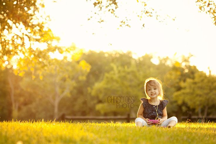 children photography.  the angle is the important part.  gotta be eye level or below.