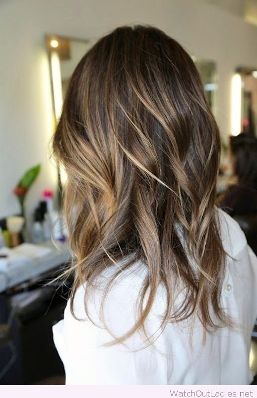 488 best hair extension salon images on pinterest hair beautiful medium length lob with balayage blonde highlights check out now urmus Image collections