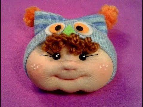 gorrito de buho para muñeco bebe ,manualilolis ,video-24 - YouTube