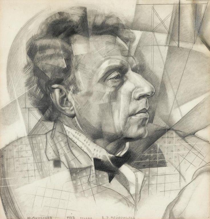 Portrait of Vsevolod Meyerhold, 1922 // by Yury Annenkov
