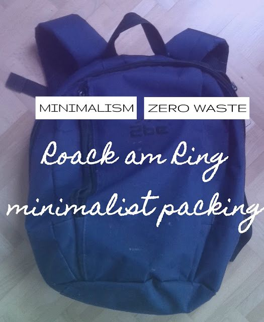 plannedpastel: Rock am Ring - Minimalist packing