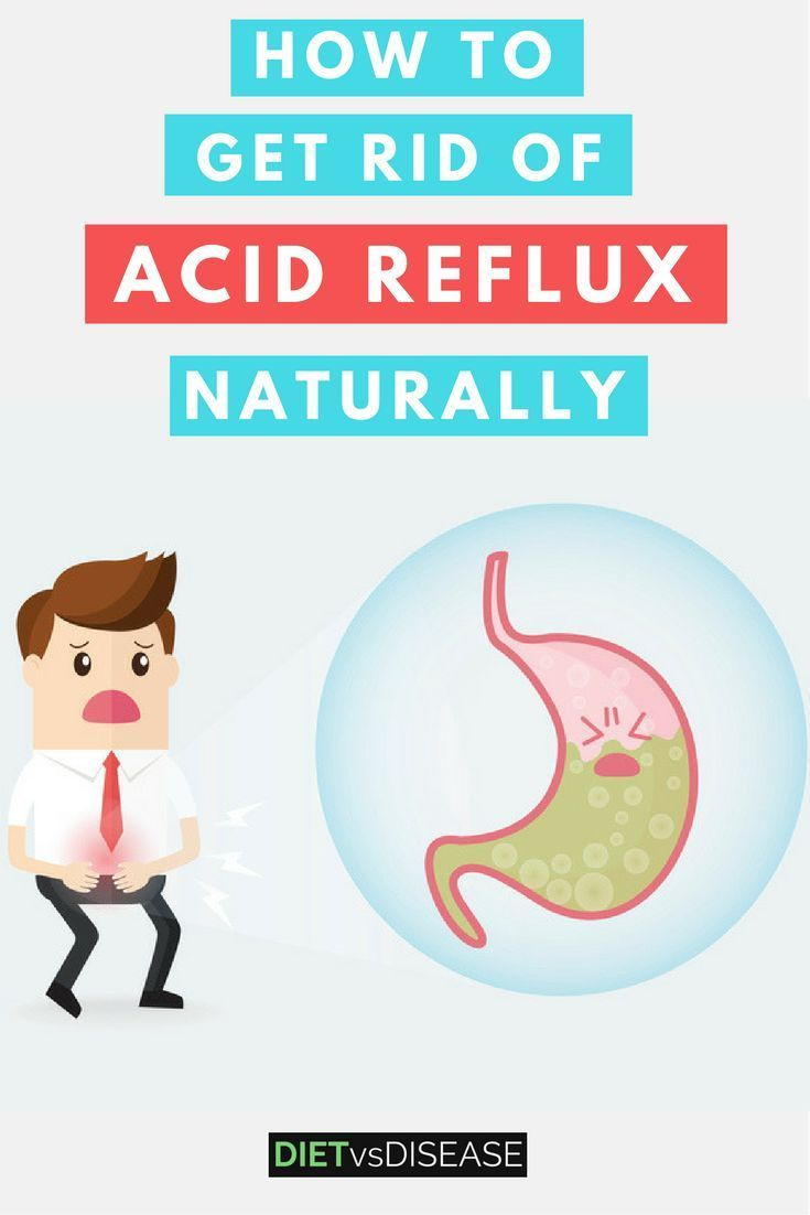 how to get rid of really bad acid reflux
