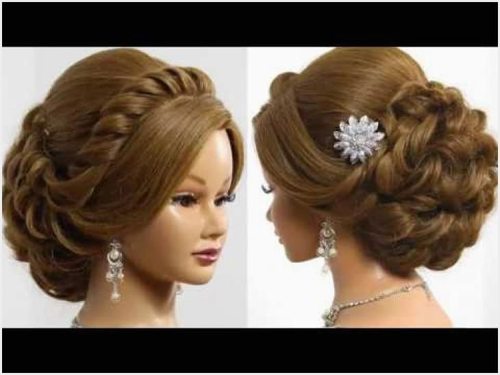 478 Step By Step Wedding Hairstyle Ideas In 2020 Hair Tutorials For Medium Hair Medium Hair Styles Braided Hairstyles For Wedding