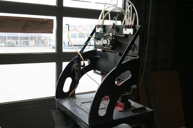 slating machine