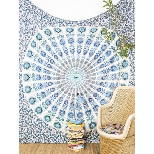 Mandala-Queen-Tapestry-Indian-Hippie-Peacock-Dorm-Tapestries-Boho-Wall-Hanging8