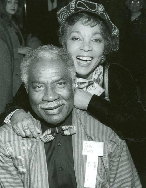 how did ruby dee and ossie davis meet