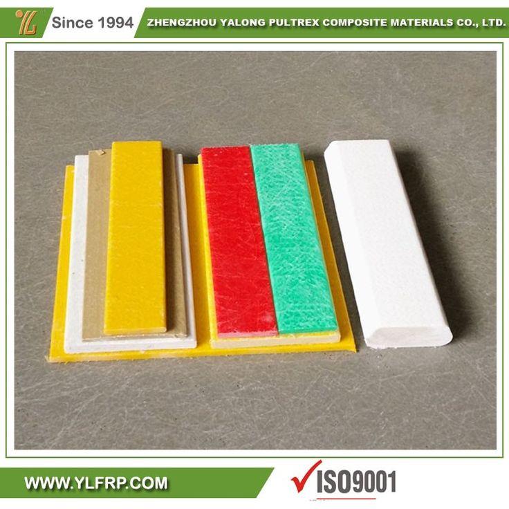 Best selling for fiberglass strips profiles frp flooring panels, fiberglass flat roof panel/batten