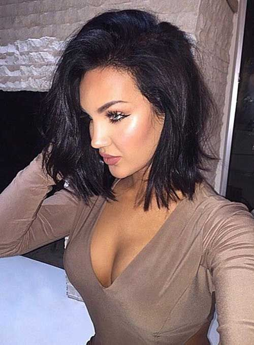 Stupendous 1000 Ideas About Dark Bob On Pinterest Long Dark Bob Short Short Hairstyles For Black Women Fulllsitofus