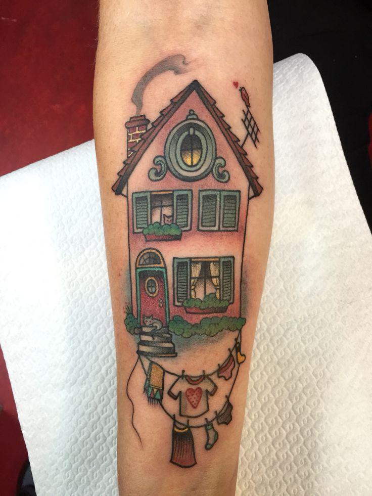 My latest tattoo!! By Guen Douglas...