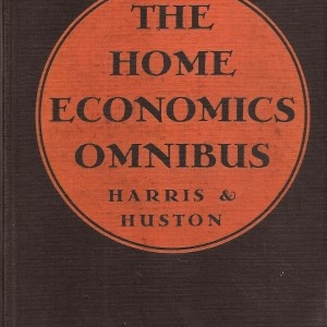 high school home economics book in 1936..fascinating glimpse into what was expected of a young lady in the 1930s.