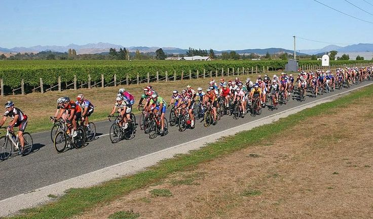 The biggest cycling event on the South Island, the Forrest GrapeRide involves a 101km circuit through some of the most spectacular scenery in New Zealand. Find out more at www.graperide.co.nz  (Photo courtesy of Forrest Graperide)