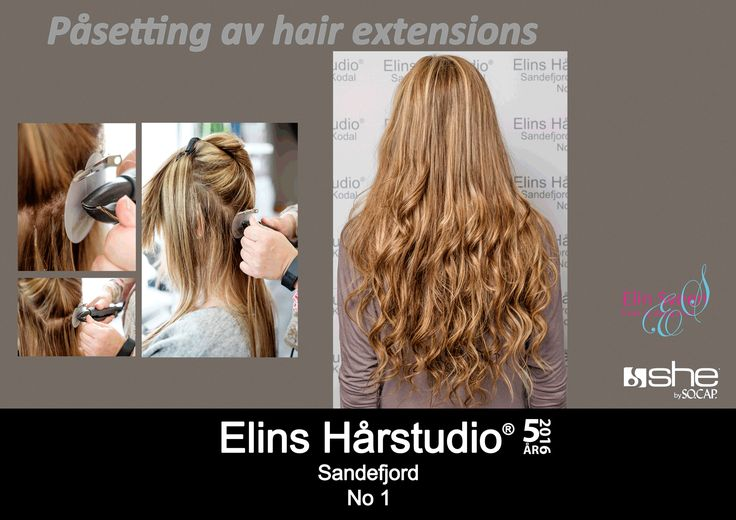 Påsetting av hair extensions – she by so. cap