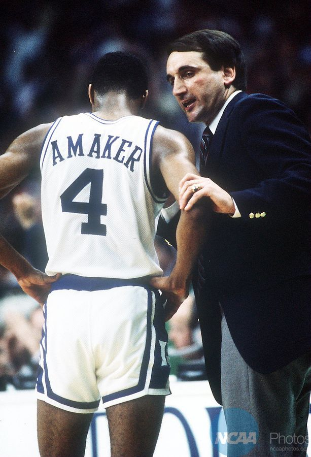 Coach K and Tommy Amaker 11 best