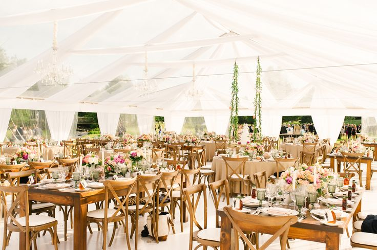 Clear Top Tent Wedding by Barb Simkova Tara McMullen Photography (planning by Cynthia Martyn Events)