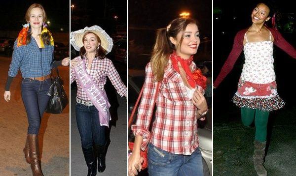 Vestidos e Roupas de Festa Junina