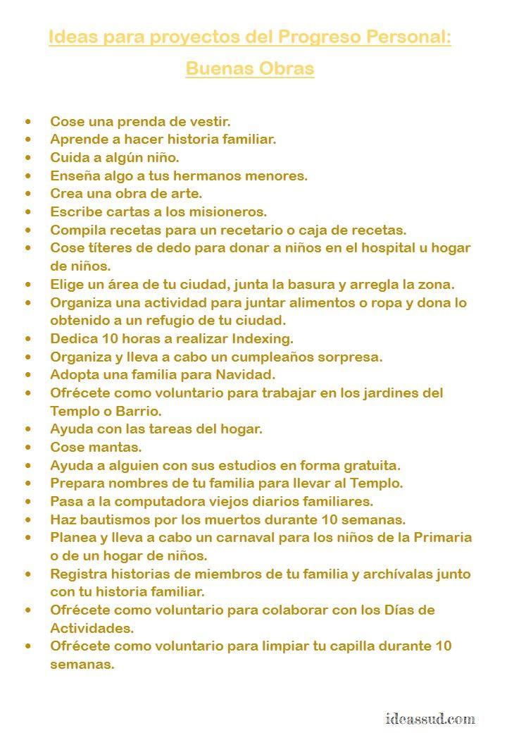 IDEAS PARA PROYECTOS SOBRE LOS VALORES DE MUJERES JÓVENES Por: ideassud.com