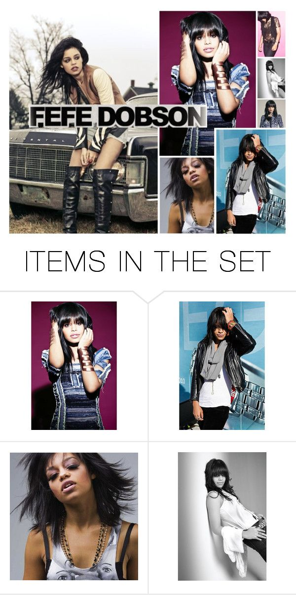 """""""Fefe Dobson"""" by fandomland ❤ liked on Polyvore featuring art"""