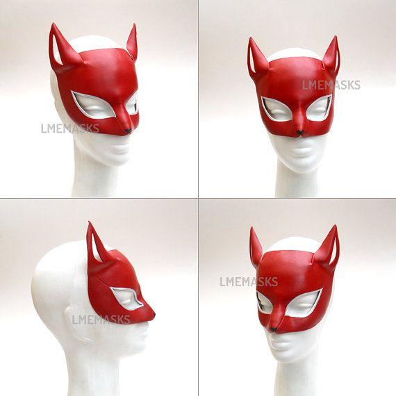 Cat Mask Ann Takamaki Persona 5 Cosplay MegaTen Game by LMEmasks