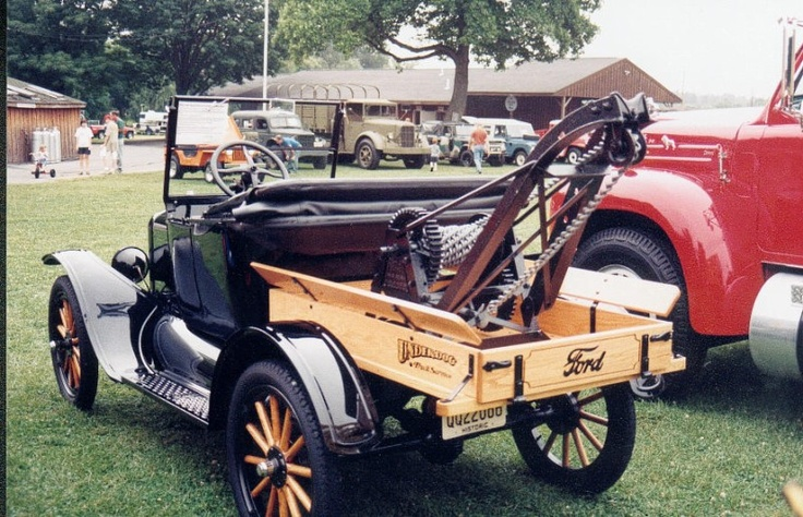 Model T Ford wrecker Tow truck