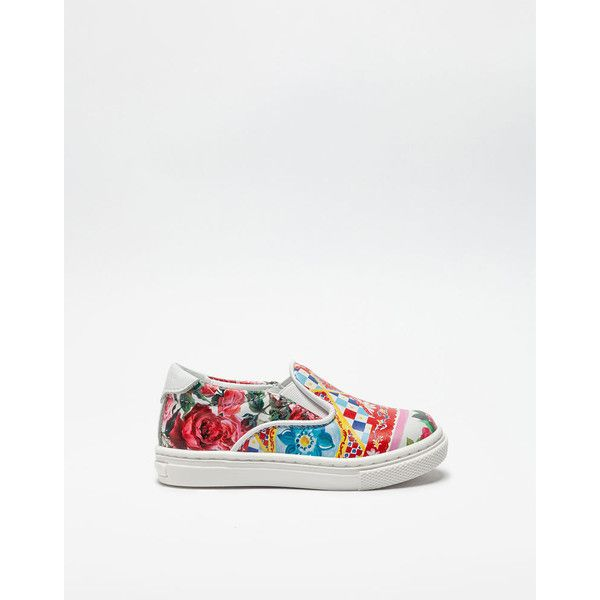 Dolce & Gabbana Neoprene Slip-on Sneakers (360 CAD) ❤ liked on Polyvore featuring shoes, sneakers, mambo print, neoprene shoes, pull on sneakers, dolce gabbana trainers, patterned shoes and leopard print slip-on sneakers