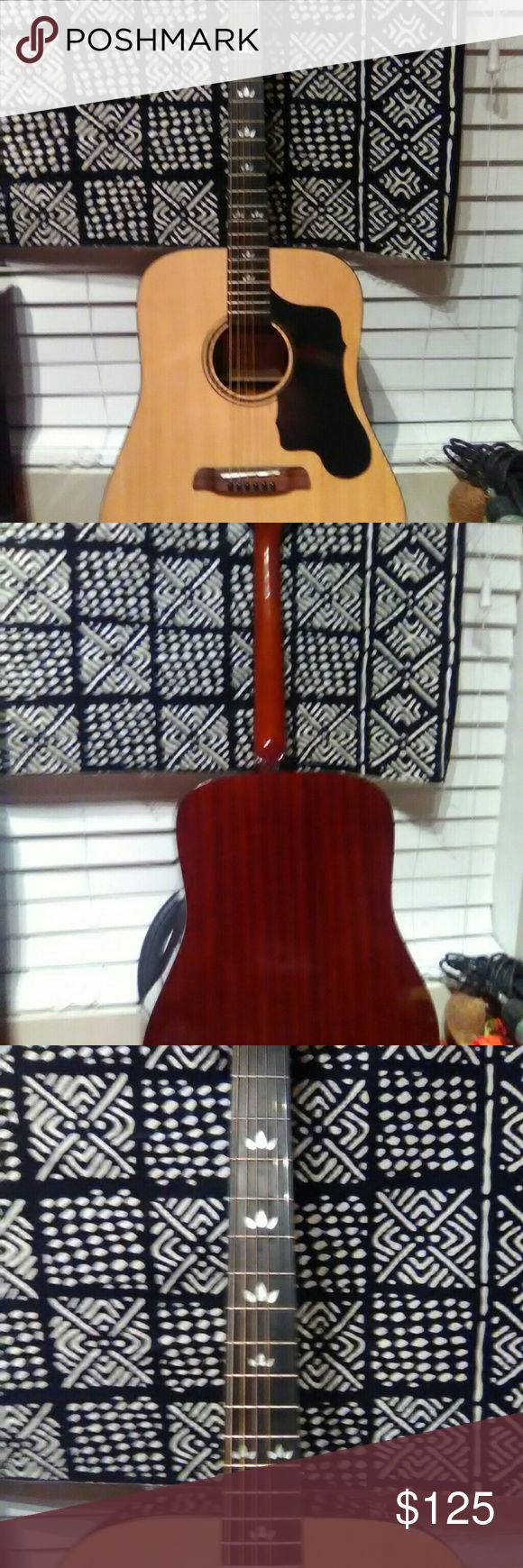 Sawtooth acoustic guitar New with soft case sawtooth Other