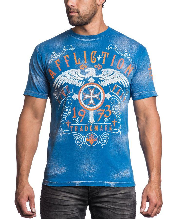 Affliction Higher Cast Brushed T-Shirt