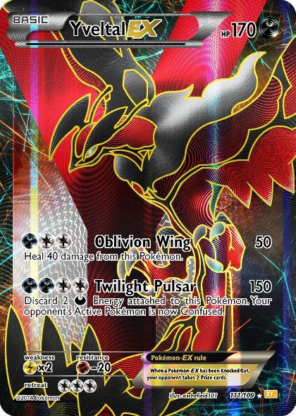 Pokemon XY - Yveltal by aschefield101.deviantart.com on @deviantART