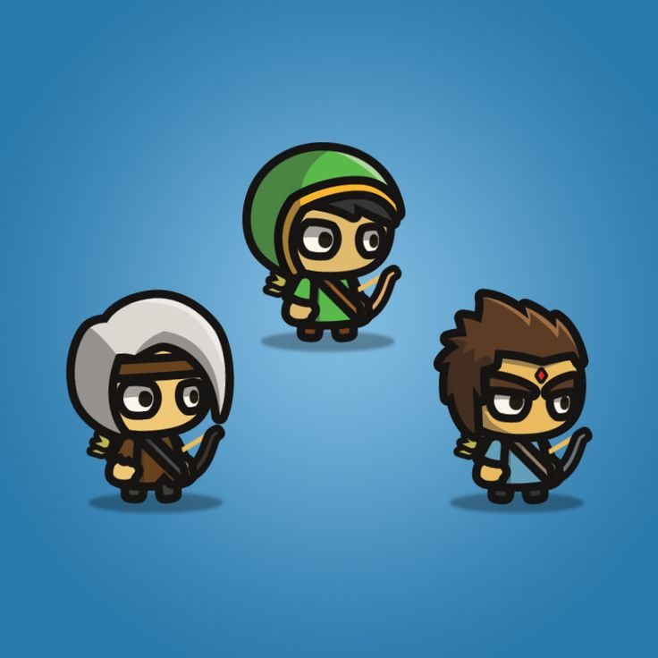 Archer Tiny Style Character
