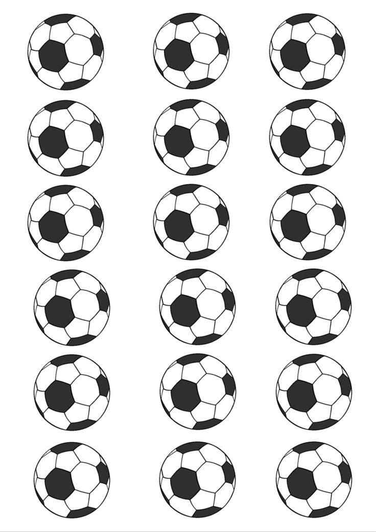 planche de ballon de football à imprimer