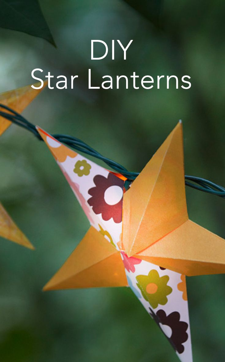 17 best images about outdoor d cor ideas on pinterest for Diy star lantern
