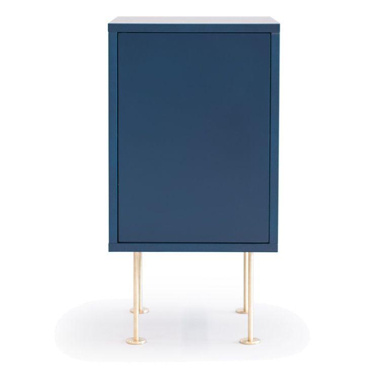 Vogue nattbord, mørkeblå i gruppen Møbler / Bord / Nattbord hos ROOM21.no (132560)